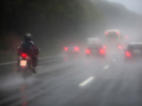 Motorcycle: Why avoid driving in the rain